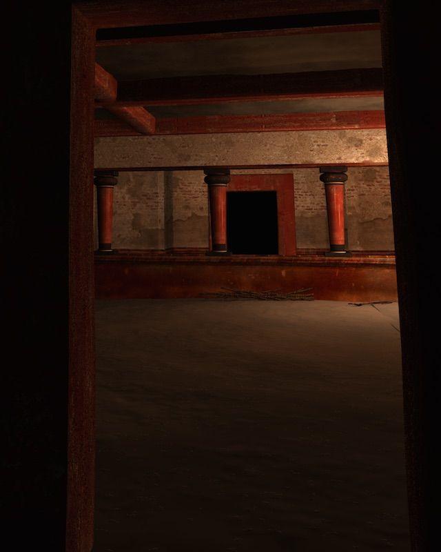 Une autre vue du labyrinthe.
