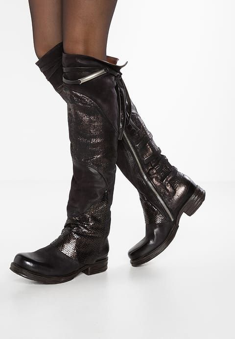A.S.98 Over-the-knee boots - nero for £309.99 (13/10/17) with free delivery at Zalando