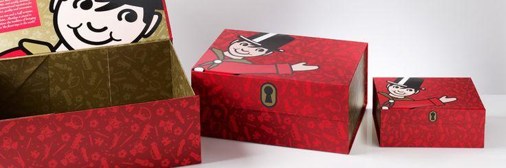 Foldabox - Custom Gift Boxes. Hamleys Toy Boxes.