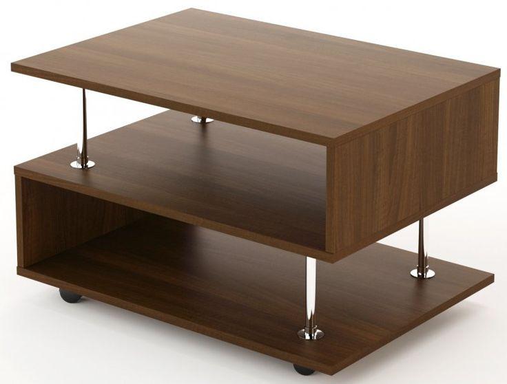 Журнальные столики и столы. Купите недорогой журнальный столик из дерева или стекла.
