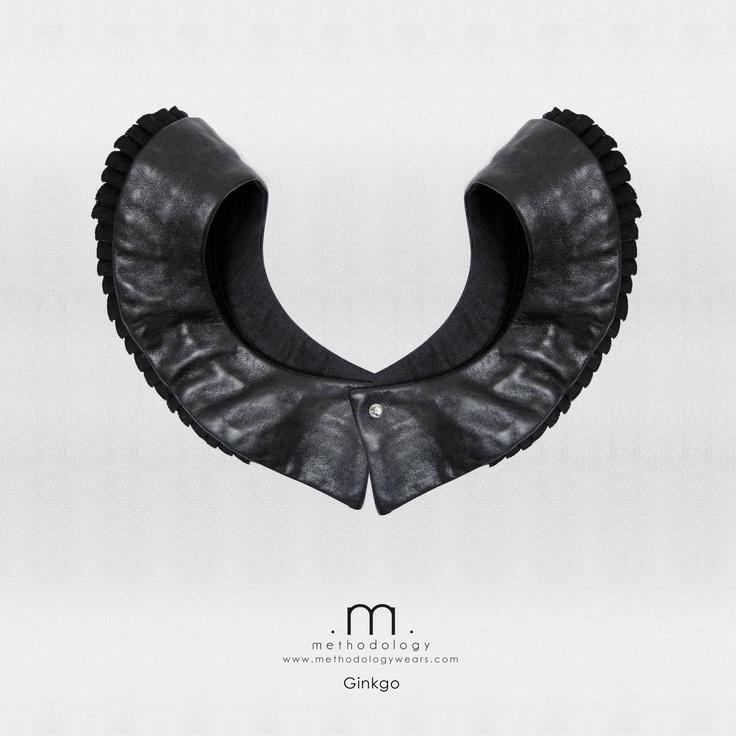 Gingko -- upcycled multi way designed collar