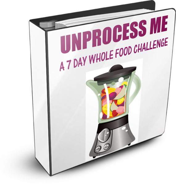 This ebook guides you through 7 days of eating unprocessed foods.  It provides a shopping list, goal setting help, daily menu planner, recomendations for the 7 days, and time saving tips for the kitchen!  It includes:  14 breakfast recipes  17 lunch recipes  18 dinner recipes  26 snack and dessert recipes  http://colorwheelmeals.com/ebooks/