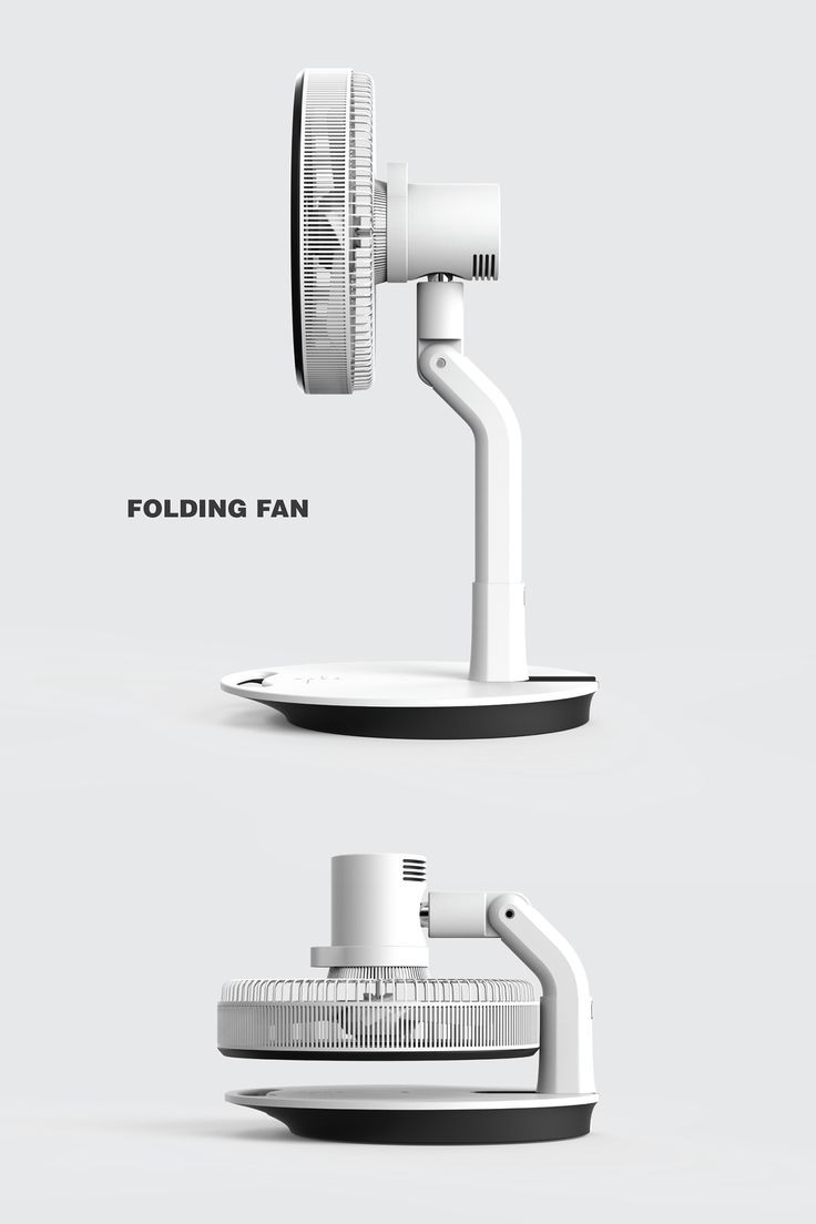 Folding Fan on Behance여름이 끝나고 선풍기를 창고에 넣어두어야 할 때 공간을 많이 차지하지 않을 수 있는 효율적인 디자인인 것 같다.