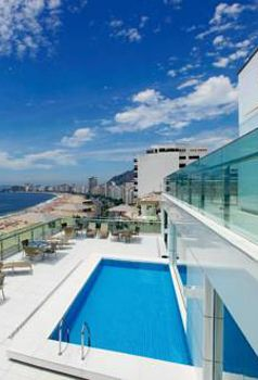Arena Copacabana, Rio de Janeiro - The Arena is an excellent choice, new, modern and located in the centre of the Copacabana beach.
