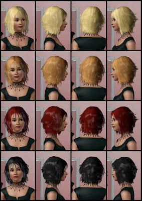 The Sims 3 Store: Hair Showroom: Blown Away Hairstyle