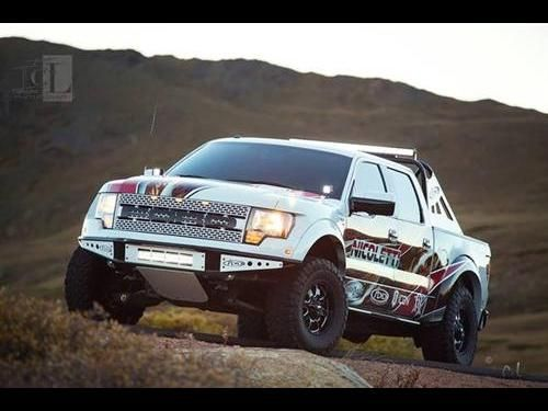Used Ford F150 Raptor SVT Trucks, Vans or SUVs with White color