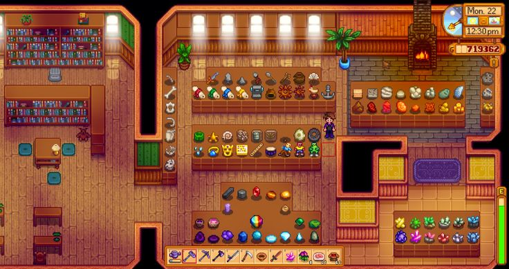 gorgeous museum layout