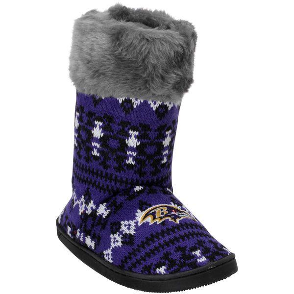 Baltimore Ravens Women's Aztec Boots - $34.99