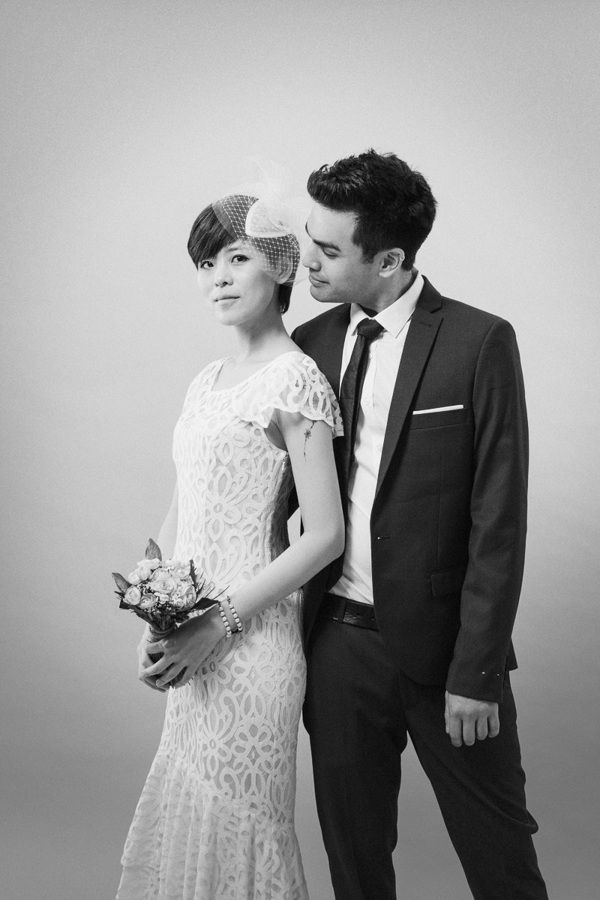 R&B   Studio Pre-Wedding by Hey!Cheese, via Behance