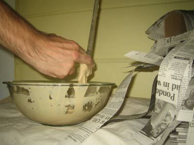 Easy, Illustrated Instructions on How to Paper Mache