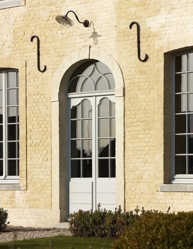 Belgian style external doors
