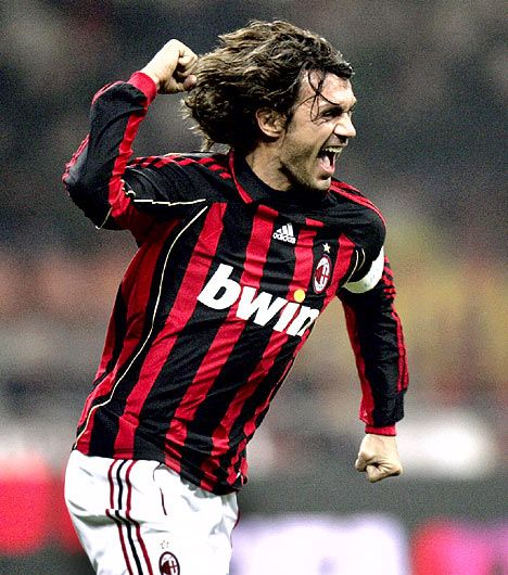 Paolo Maldini - at Milan from 1978 - 2009