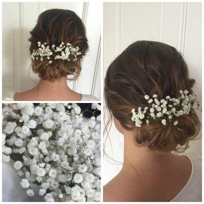 Braut Make Up Und Brautfrisuren Hochzeitsfrisur Und Hochzeits Make Up