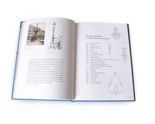 kniha Plynové lampy