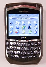 9.  My Blackberry 8700 was the first blackberry I got with the scroll wheel on the side.