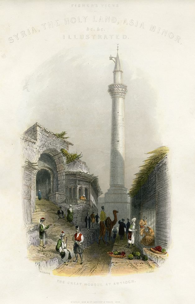 Turkey, Antioch Great Mosque, 1837