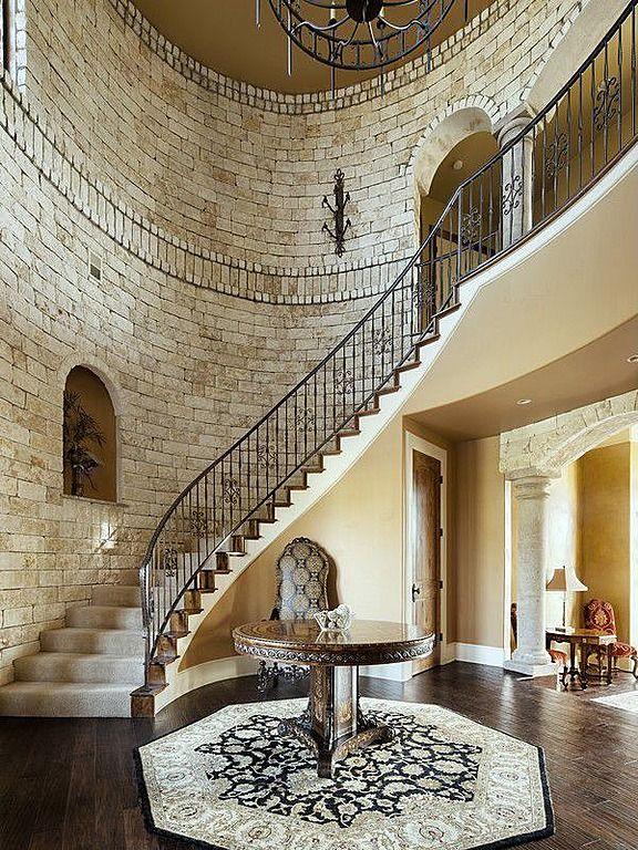 Contemporary Grand Foyer : Best ideas about modern castle on pinterest
