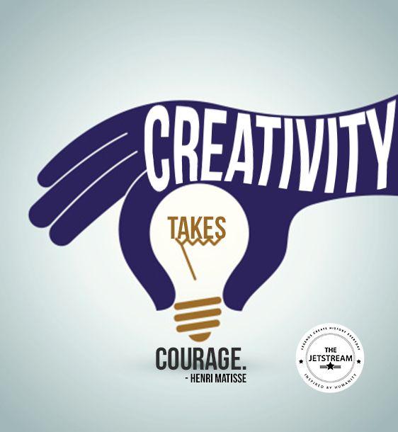 Creativity takes courage. | Julian Pencilliah Inspire #Creativity #Courage #Quotes