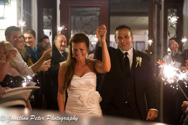 sparkler send off - perfect way to the end the night after a great wedding!