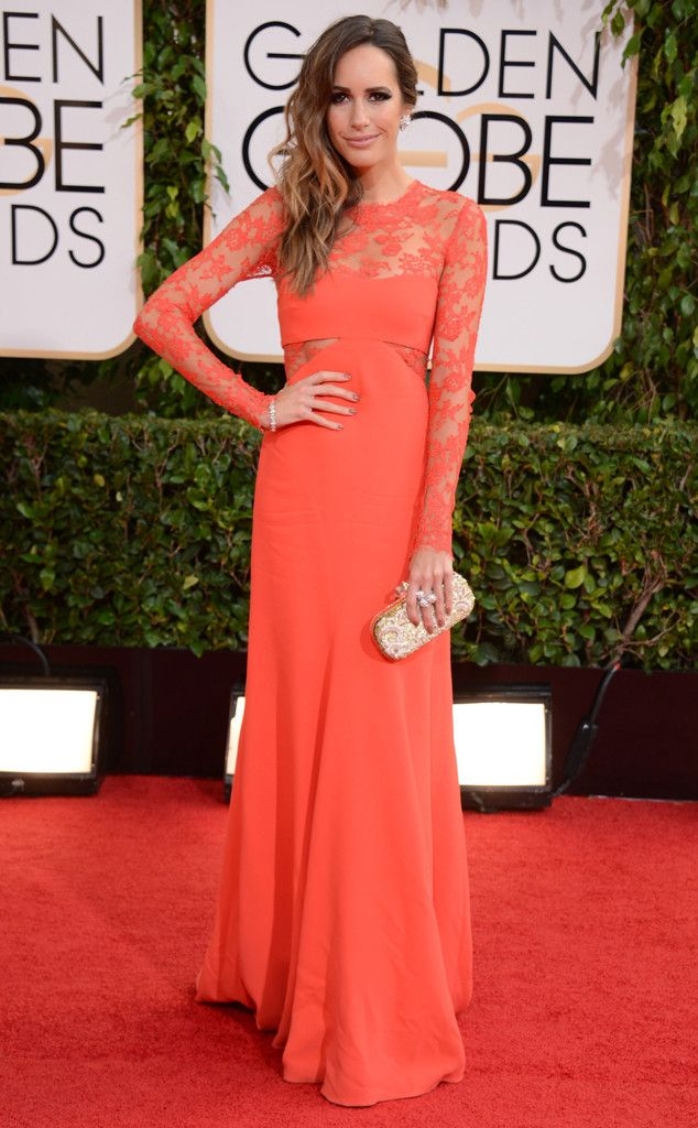 Louise Roe from 2014 Golden Globes: Red Carpet Arrivals | E! Online