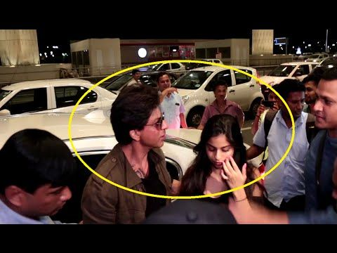 WATCH Shahrukh Khan with daughter Suhana at Mumbai Airport leaving for Europe. See the full video at : https://youtu.be/K78RFXU1wc4 #shahrukhkhan #bollywood #bollywoodnews