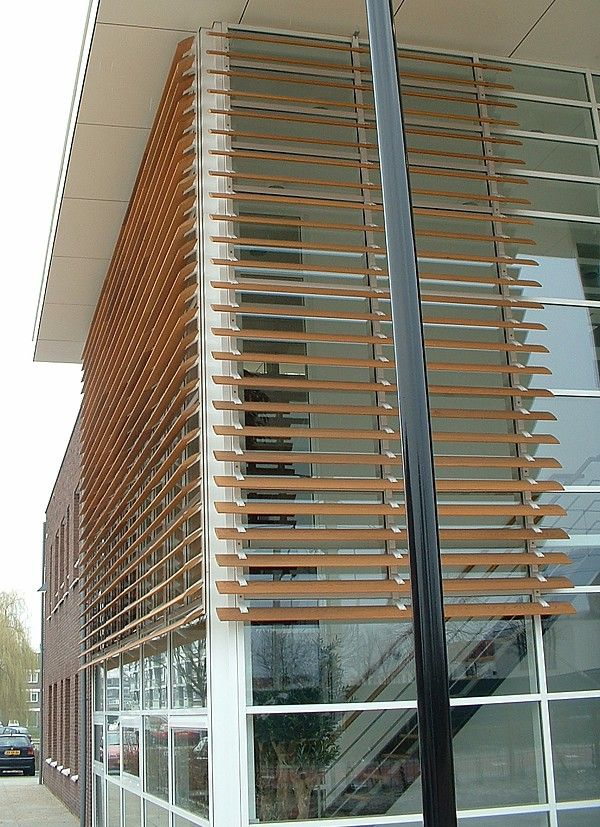 Naco exterior wood louvers sun controllers savannah - Exterior louvered window shutters ...