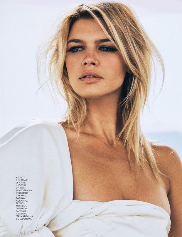 Kelly Rohrbach for Grazia Italia 2016