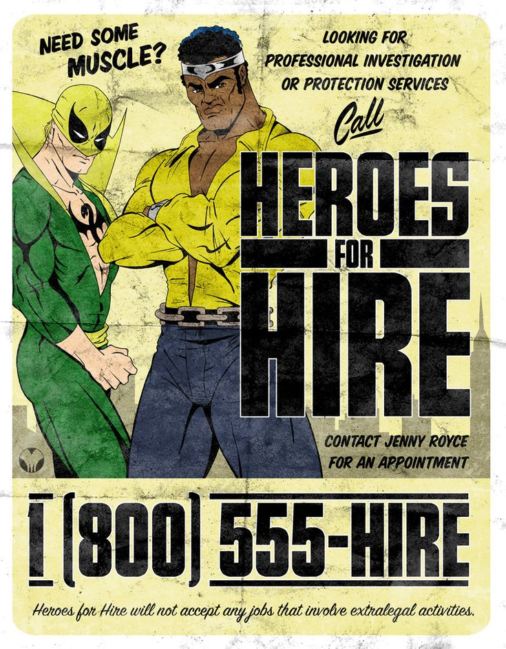 Heroes for Hire by MikeMahle.deviantart.com