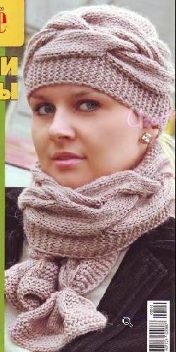Вязание бесплатные схемы - береты, шапки, шляпы | Узорчик.ру Страница: 4