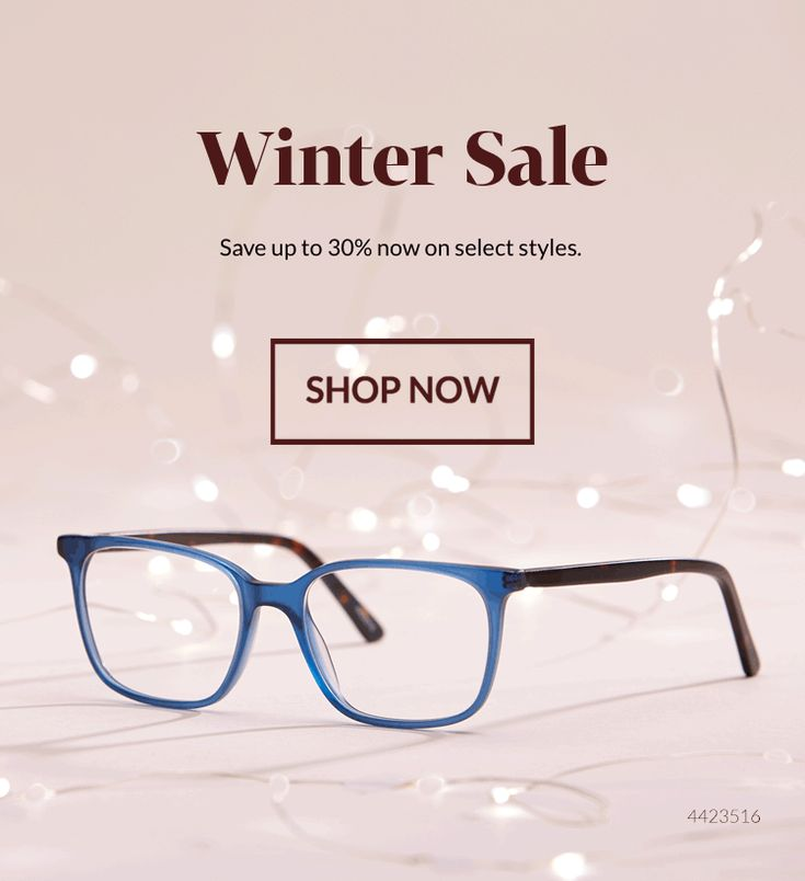 Winter Sale at Zenni Optcail: Shop our prescription glasses and sunglasses online.