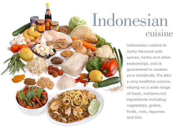 Indonesian Food - Yum !