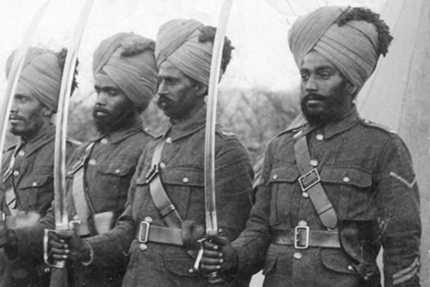 Sikh soldiers of world war one