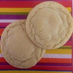 Easy Sugar Cookies - Allrecipes.com Using Swan's Down cake flour in place of AP made a delicious difference!