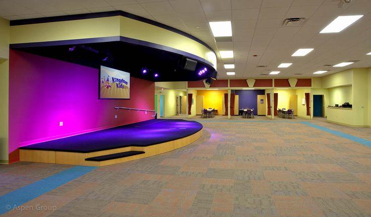 The Vineyard Church: Multi-Site Admin & Children's Ministry   Aspen Group   Building For Ministry