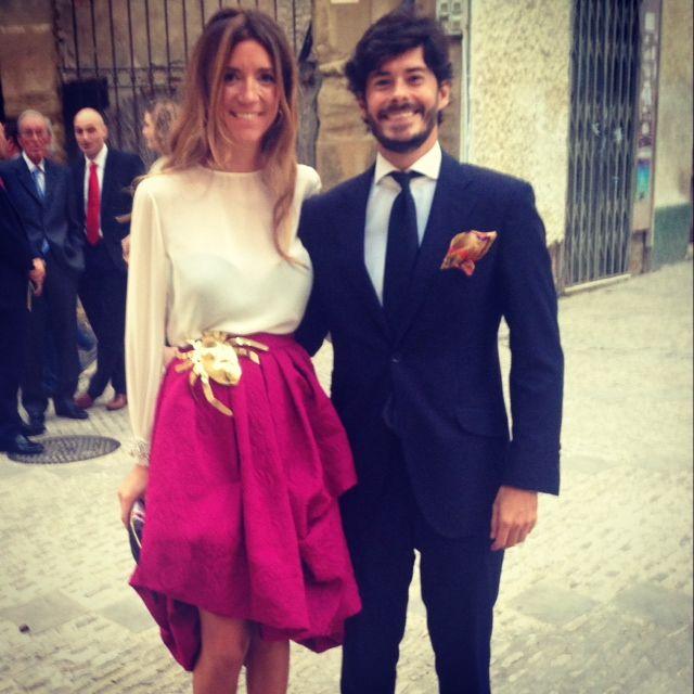Invitada Helena Mareque con bruche ARAÑA GREY by Carmen Ruiz @greybycarmenruiz
