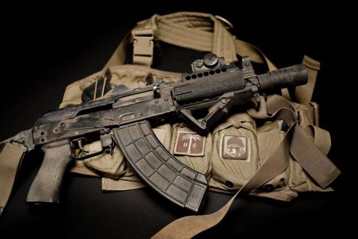 Tactical AK SBR (Short Barrel Rifle)