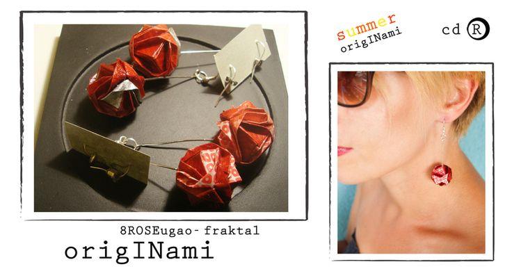 8Roseugao earrings from manufaktura cdR by DaWanda.com