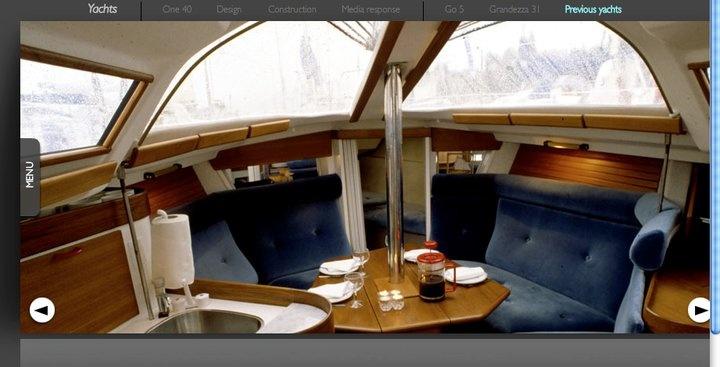 Guyline 822 (fantastiskt mycket utrymme för en sån liten båt!)