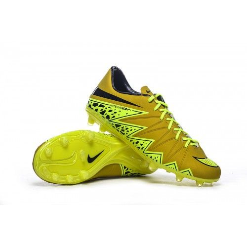 100% authentic 70e72 48f97 Nike Hypervenom - Nike Fodboldsko tilbud Hypervenom Phelon FG Neymar Herre  Guld Sort
