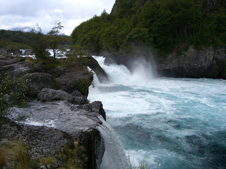 Petrohue falls - Chile