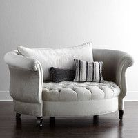 Haute House Harlow Cuddle Chair horchow
