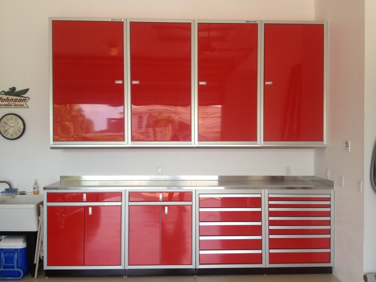 212 Best Images About Garage Cabinets On Pinterest Base Cabinets Trash Bins And Racing