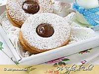 Biscotti occhio di bue ricetta   Ho Voglia di Dolce