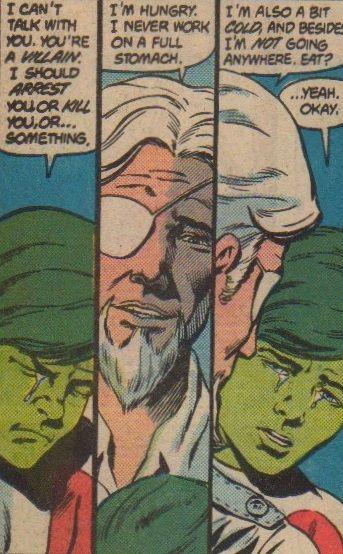 Slade Wilson and Gar Logan  - Tales of The Teen Titans #55