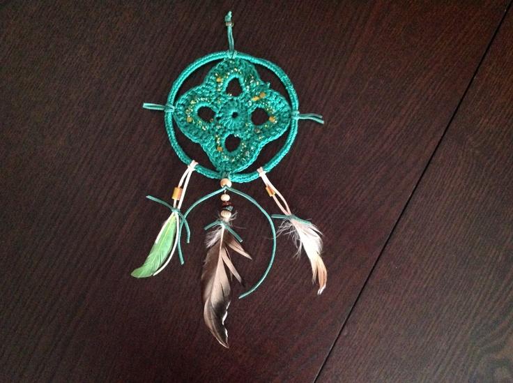 Green dreamcatchers ...