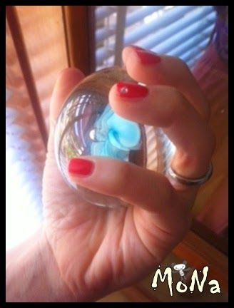MoNaLandiA: Nail Art RoSSo FragOla