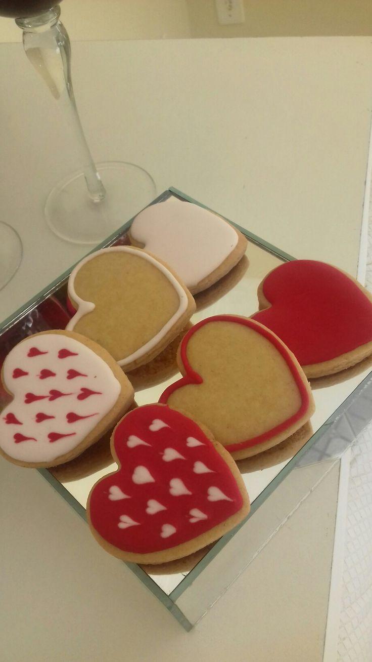 Biscoitos amanteigados para os apaixonados!!!