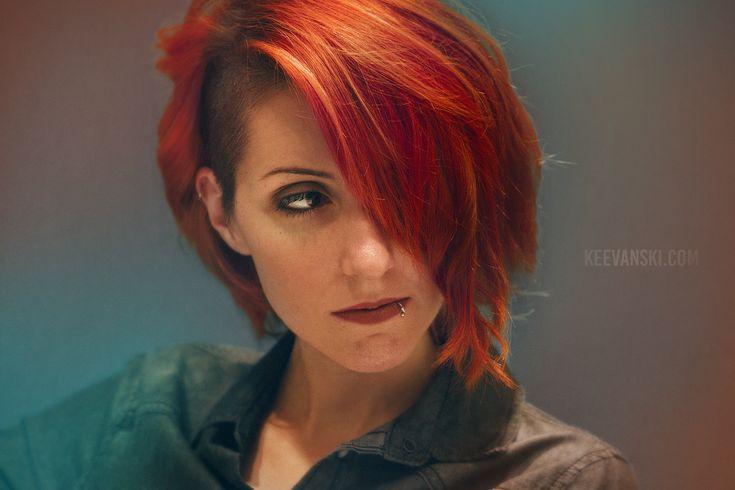 Red Hair Sidecut