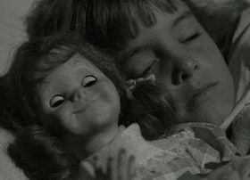"In a beloved episode of the ""Twilight Zone"" called ""Living Doll,"" a girl's baby doll threatens her hateful stepdad, played by Telly Savalas, icily declaring ""my name is Talky Tina and I'm going to kill you"" before sending him careening down a flight of stairs. That episode majorly freaked out kids f..."