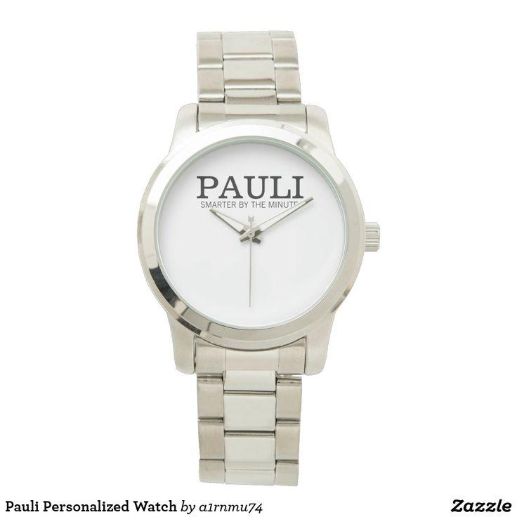 Pauli Personalized Watch